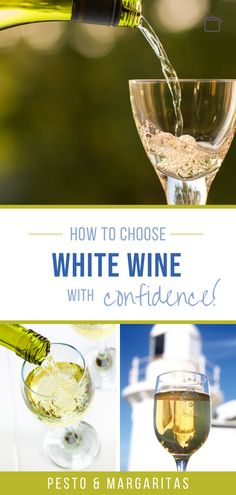 There are LOADS of white wines out there so how do you know which is the right one?  Learn about the basics of white wine and how to choose the best one for your meal, shopping with confidence at the wine shop or supermarket! New Year's Drinks, Wine Cocktails, Alcoholic Drinks, Sweet White Wine, Dry White Wine, Best Wine To Drink, Types Of White Wine, The Wine Shop, White Wine Spritzer