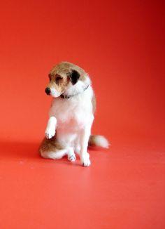 1/12 miniature puppy dog
