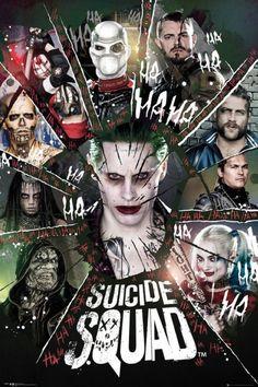 Heute gibt es in vielen Kinos schon Previews - offizieller Kinostart ist morgen - SUICIDE SQUAD