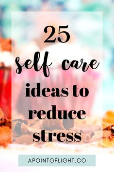25 Self Care Ideas to REDUCE Stress and Anxiety. You can't take care of the people you love if you don't give yourself love and care first. Integrate these self care tips into your routine to lower stress levels. Stress And Anxiety, Anxiety Help, Anxiety Relief, Stress Relief, Feeling Stressed, How Are You Feeling, Self Development, Personal Development, Ways To Reduce Stress