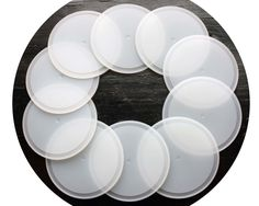Our silicone sealing lid liners can make Ball plastic caps and many other Mason jar lids leak proof and food safe! Dishwasher, freezer, and microwave safe!