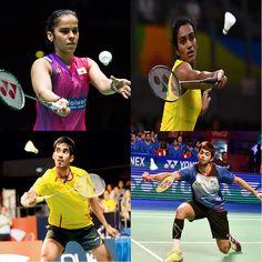 P.V. Sindhu, Saina Nehwal, K. Srikanth and B. Sai Praneeth had qualified to second round in Australian Open Super series. #SportsUpdates www.chennaiungalkaiyil.com