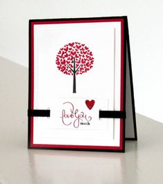 STAMPIN UP VALENTINES | here is another fun card from the stampin up valentine s defined stamp ...