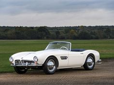 1958 BMW 507 Roadster going under the hammer in Paris February 5 Bmw 507 Roadster, Under The Hammer, Bmw Classic Cars, Classic Bikes, Best Muscle Cars, Cultural, Bmw Cars, Car Show, Vintage Cars