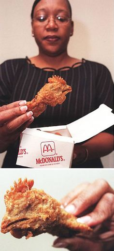 Chicken head found in McDonald's Happy Meal.