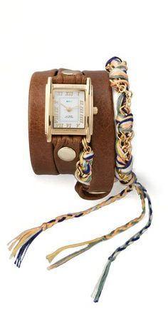 La Mer Collections Primary Friendship Bracelet Watch