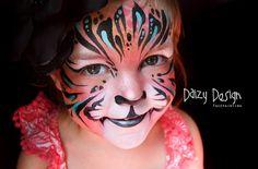 Pintura facial infantil por Christy Lewis