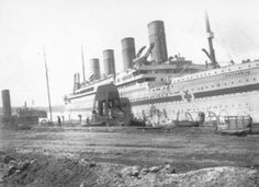 Britanic - Sister ship to Titanic, third of the Olympic-Class White Star Line Vessels.