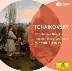 TCHAIKOVSKY Symphonies Nos. 4 - 6 / Pletnev