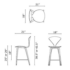 bar stool dimensions guide Google Search