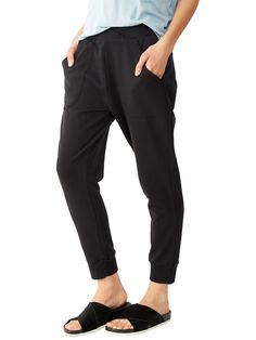 Light French Terry Slouchy Pants - 31083FQ | Alternative