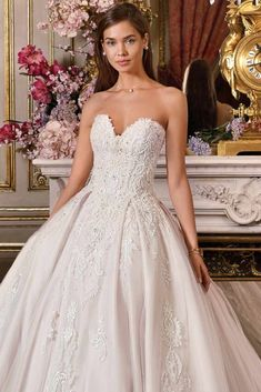 cff8b4d5214 Platinum by Demetrios - Luxurious Bridal Collection Beautiful Wedding Gowns