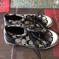 COACH Womens Barrett Sneakers size 7 Used but still in great condition!! Coach Shoes Sneakers