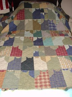 attic+window+quilt+instructions | Another wall hanging again, can be made bed size easily