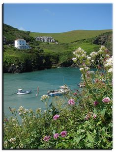 Port Isaac, Cornwall... where Doc Martin is filmed.  Pretty place to visit.