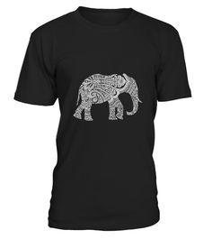 """# Elephant Henna T-Shirt .  100% Printed in the U.S.A - Ship Worldwide*HOW TO ORDER?1. Select style and color2. Click """"Buy it Now""""3. Select size and quantity4. Enter shipping and billing information5. Done! Simple as that!!!Tag: elephant, Irrelephant"""