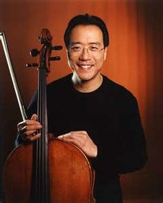I just love all of YO- Yo- Ma music.