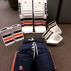 Michal Neuvirth's new Vaughn V4 setup with the New York Islanders.
