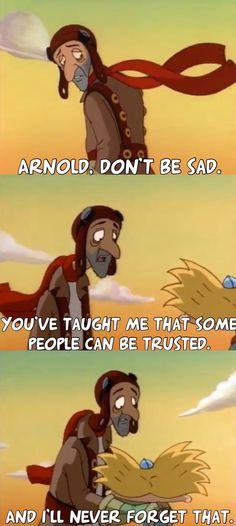 Hey Arnold! Pigeon Man