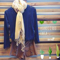 ️️Fio AMei🍃✨ #fashion #lojaamei #muitoamor #etiquetaamei #cachecol #frio #novidades #blusa #moda #fashion