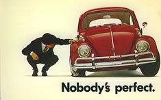 Great advertisement, love volkswagen