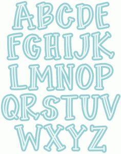 Free Printable Funny Alphabet Letters Paw Print Alphabet