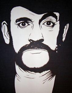 Lemmy Kilmister from Motörhead by JeremyEckhart