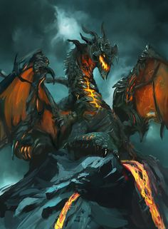 Lava Dragon. Yeah!