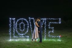 LOVE Letters fairy light