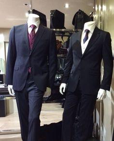Traje caballero Armani, camisa ceremonia Xacus y corbatas Gucci.