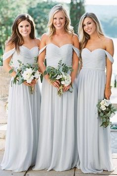 Bridesmaid dresses. Pick a most suitable bridesmaid dress for your wedding. You'll want to look at the dresses that would certainly flatter your bridesmaids, simultaneously, match your wedding ceremony style.