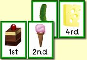 Zelf Ned. tekst toevoegen: The Very Hungry Caterpillar Book Resources - Saturday Food Number Line