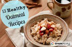 13 Healthy Oatmeal Recipes