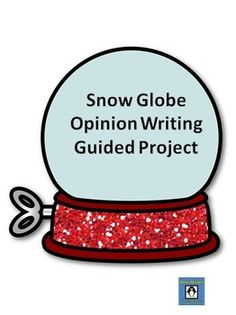 This 15-page packet includes everything you need for your students to create a 5-paragraph opinion writing piece. Each student will decide whether they are for or against living in a snow globe and back up their ideas with details. This was used with my 4th grade co-taught class and really simplified the writing process.