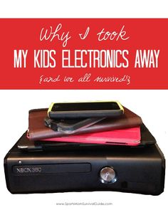 Are your kids in an electronics coma? Find out why I took away my kids electronics away and what has happened as a result!