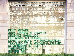 KASHIWA SATO - ISSEY MIYAKE BY NAOKI TAKIZAWA