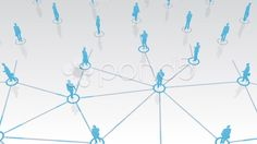 Social Network Connection D1w2 HD - Stock Footage | by bluebackimage