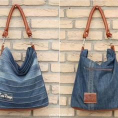 Upcycling-Tasche Chobe stitchydoo: Upcycling-Tasche Chobe Jeans-Recycling par excellence The post Upcycling-Tasche Chobe appeared first on Frisuren Tips - Woman Fashion Diy Jeans, Diy Upcycled Art, Upcycled Furniture, Furniture Ideas, Diy Kleidung Upcycling, Jeans Recycling, Jean Diy, Diy Sac, Diy Bags Purses