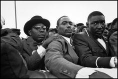 Eli Reed photographer.  Million Man March, 1995.