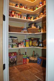 Small pantry shelving systems — Homes by Ottoman Pantry Shelving, Pantry Storage, Pantry Organization, Open Shelving, Storage Spaces, Shelves, Pantry Ideas, Kitchen Ideas, Storage Ideas