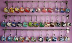 Moomin mug collection...simply wow *.* #Moomin