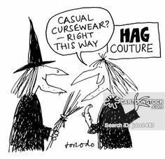 """""""Casual cursewear? Right, this way."""""""