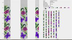 12 around bead crochet rope pattern