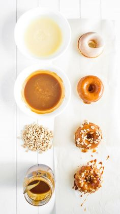 Double-Dipped Whiskey Caramel Donuts -- 19 Boozy Breakfast Treats That Are Worth Waking Up For