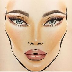 Mac Face Charts (@macfacechart) • Фото и видео в Instagram