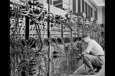 ENIAC, 1946  Regarded as the first general purpose electronic computer, the…