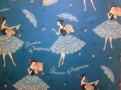 Vintage Wrapping Paper - Mod Wedding Shower Gift Wrap. $5.00, via Etsy.