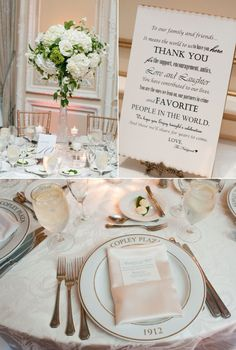 Fairmont Copley Plaza Wedding by Unique Weddings by Alexis + Grazier Photography | Style Me Pretty