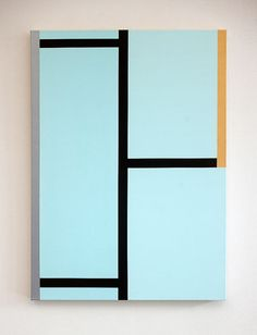 Alan Uglow, Untitled, 2010 acrylic on canvas 91.5 x 66 cm via Gallery Onrust