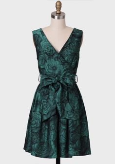 Connie Jacquard Floral Dress By Darling UK at #Ruche @Ruche